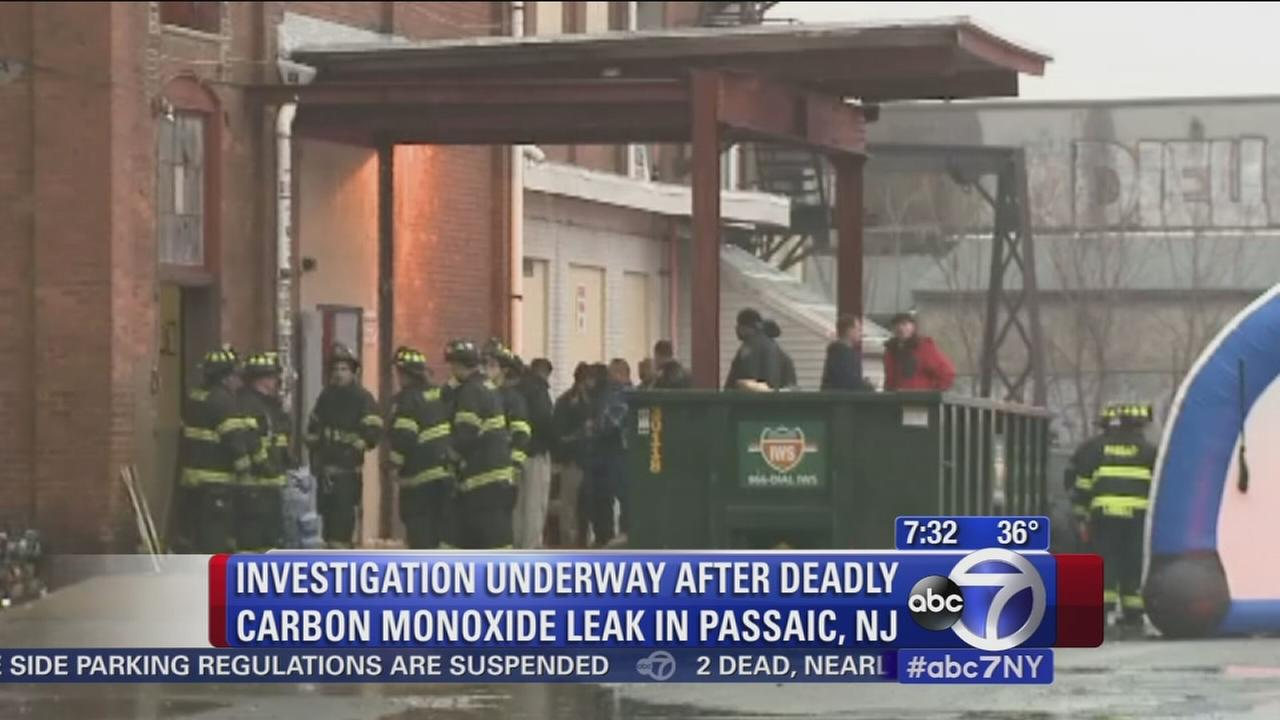 2 dead, 12 sickened by carbon monoxide