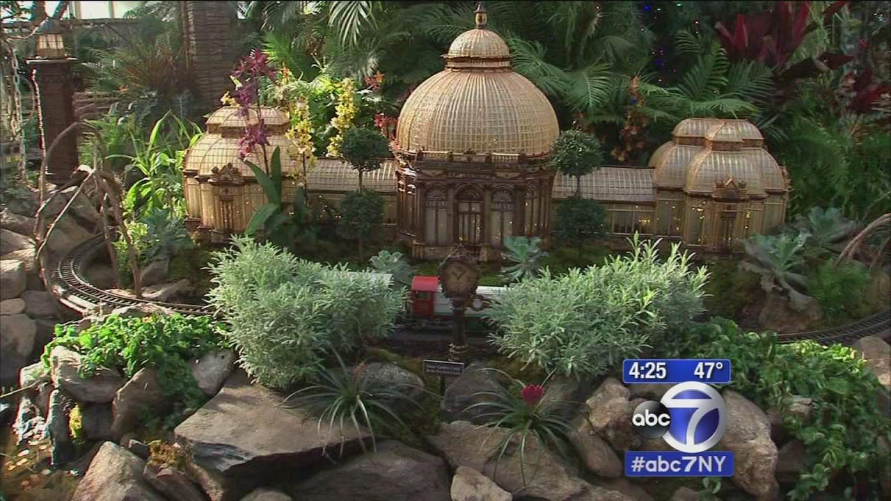 New York Botanical Gardens 23rd Annual Holiday Train Show is bigger and better than ever
