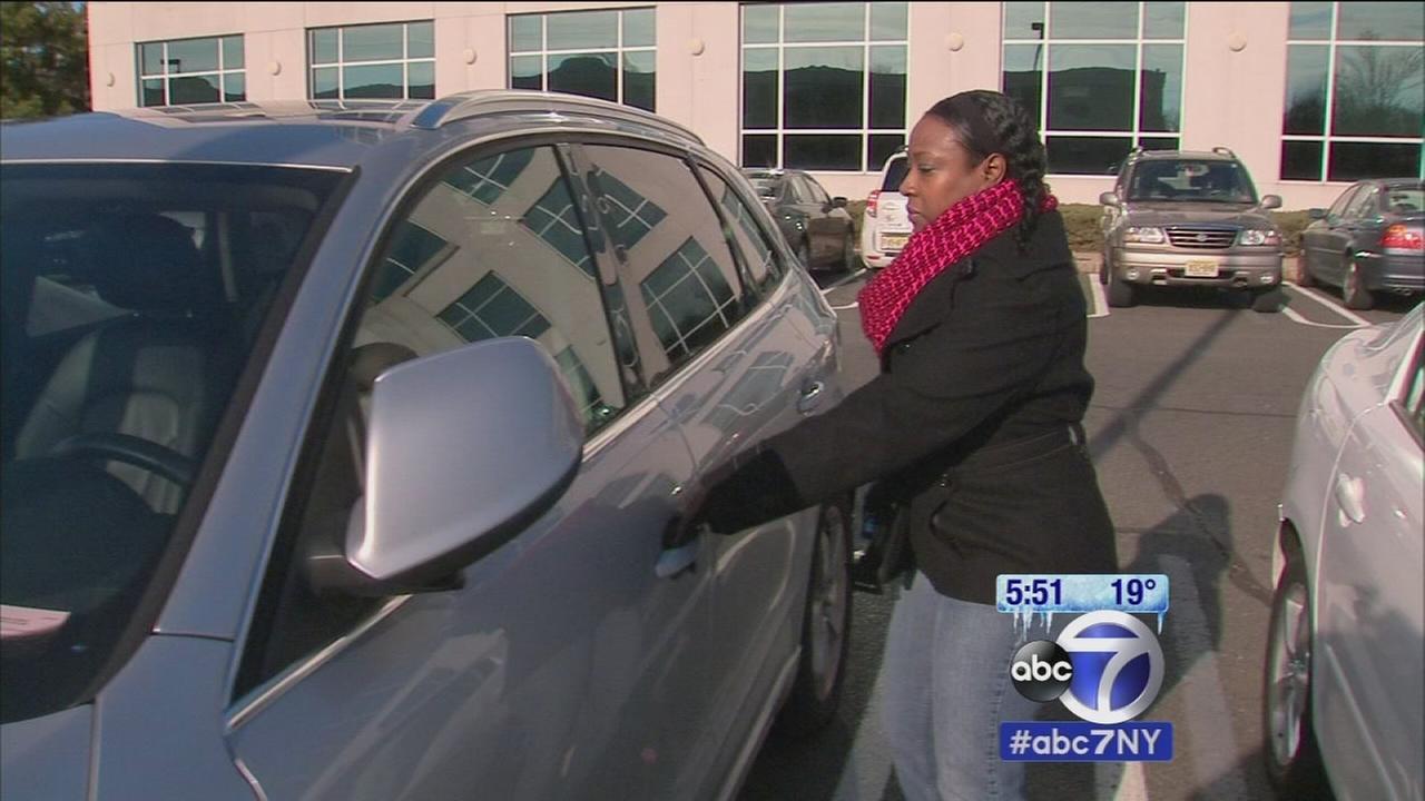 Woman faces long wait for new car title