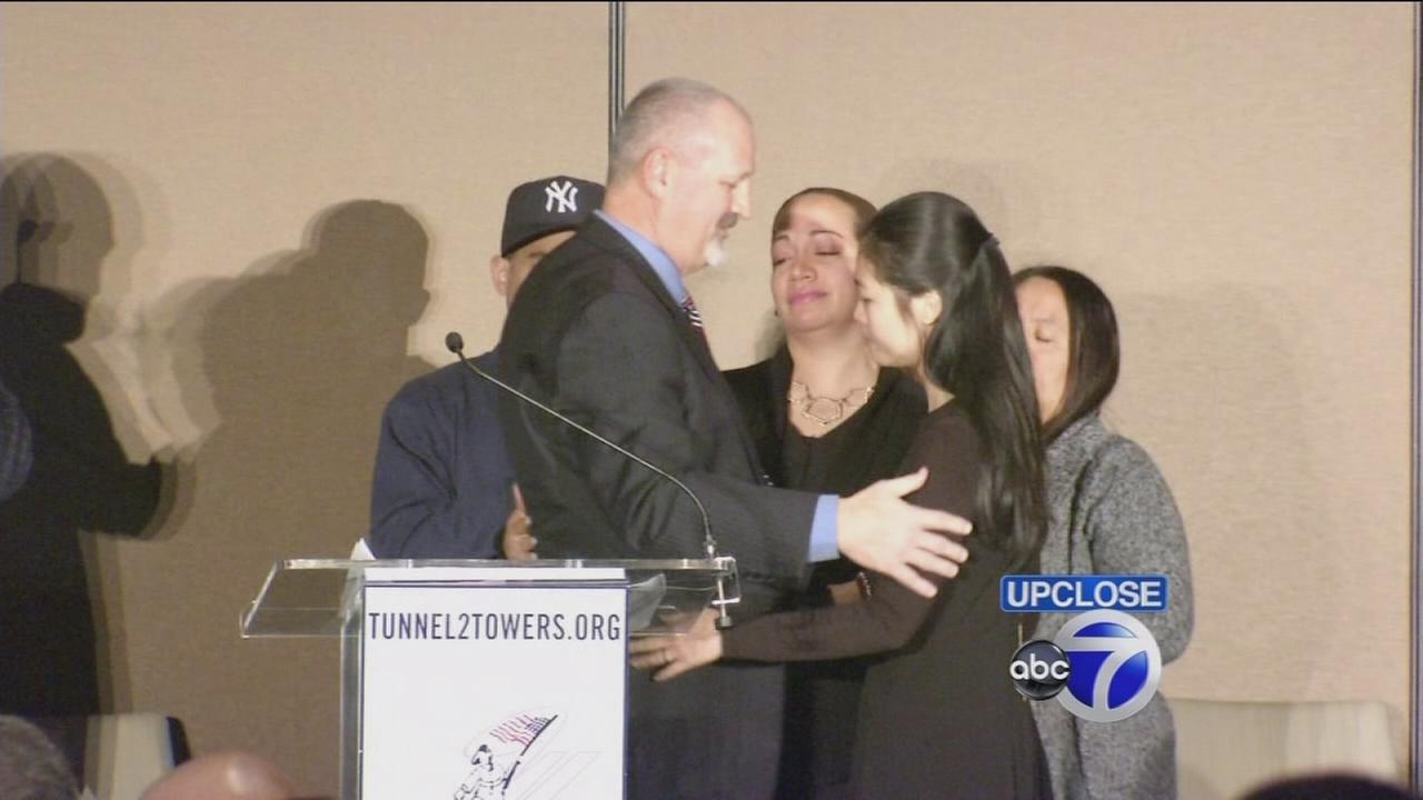 Up Close: Donations to families of slain officers