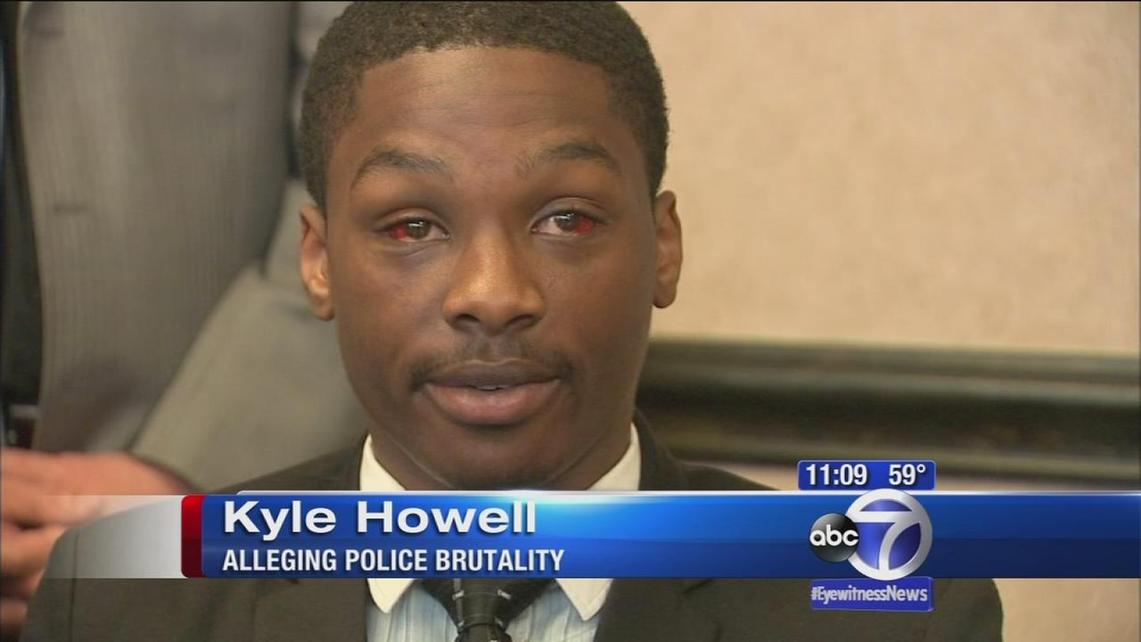 Man suing on Long Island, alleging police brutality