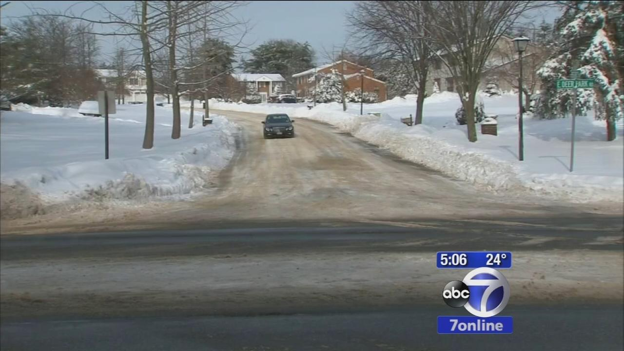 Bitter cold leads to dangerous driving