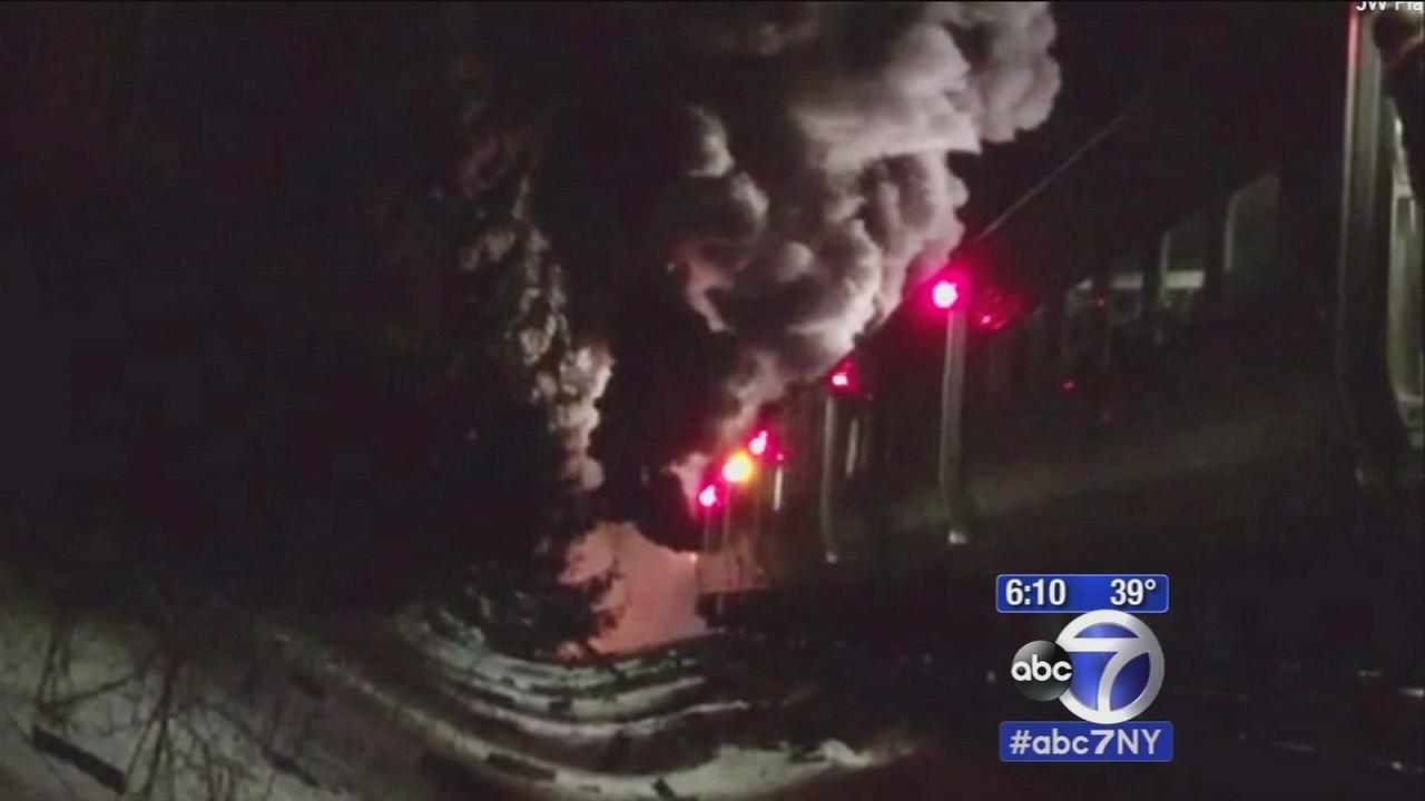 An investigation is underway to determine what caused the dealy Metro North crash