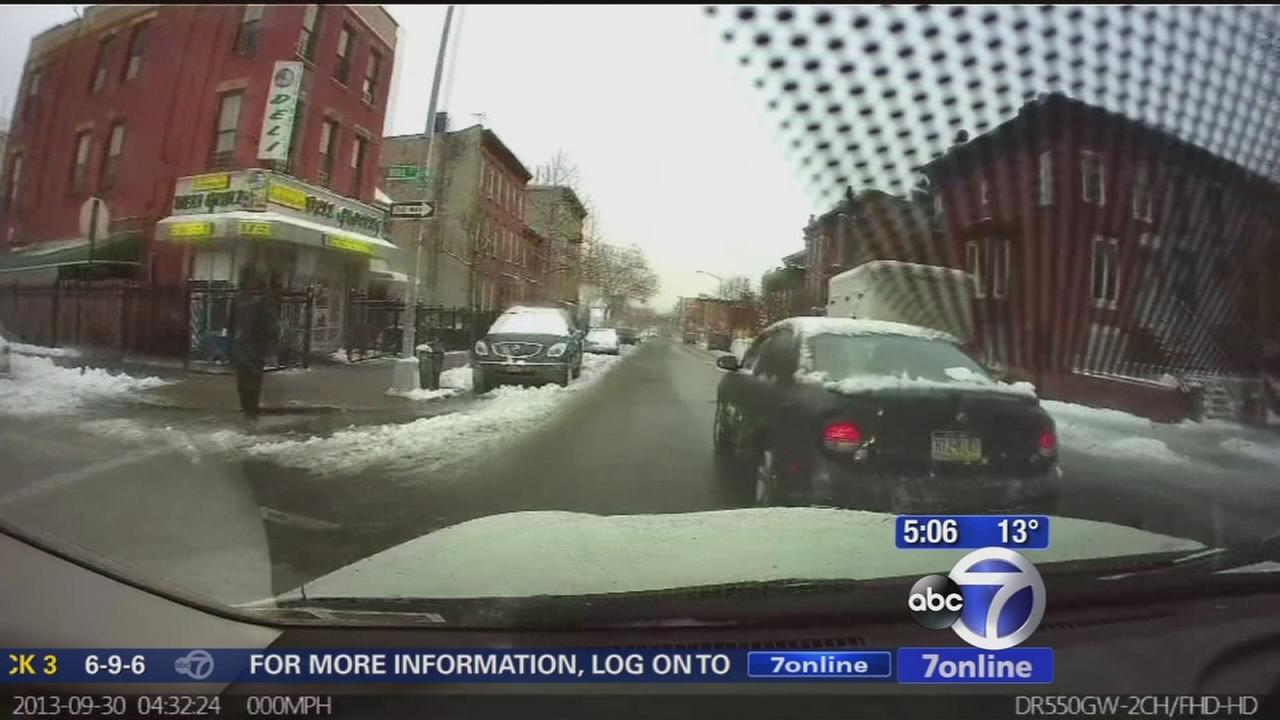 Dash cam captures carjacking from carjackers point of view