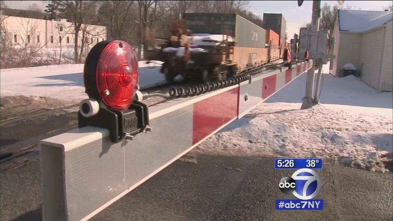 Plan for safer rail crossings in Rockland