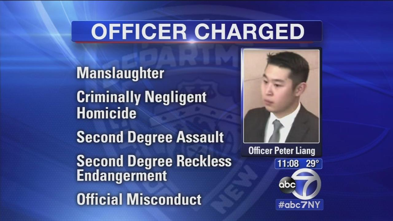 Officer charged in Akai Gurleys death