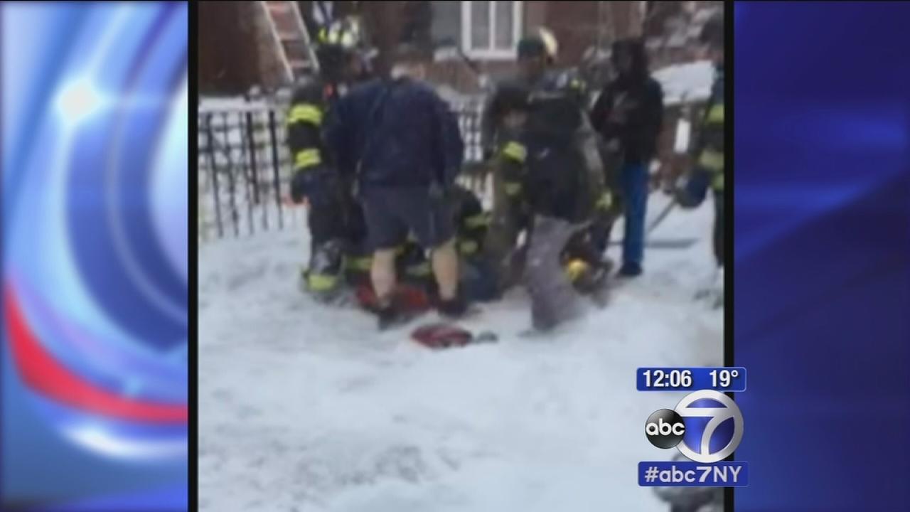 Boy critically injured in Brooklyn fire