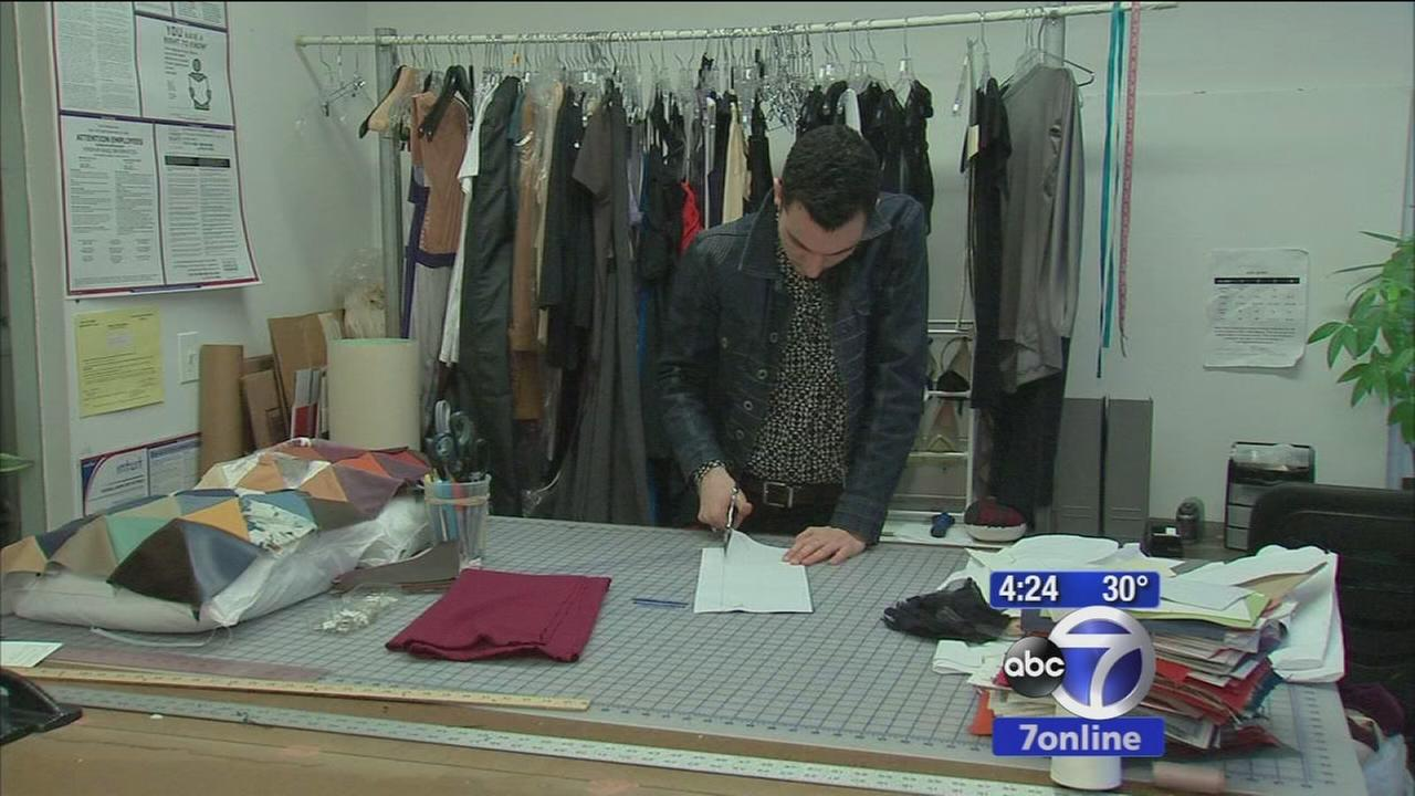 Designer opts out of fashion week to focus on creating no waste clothing