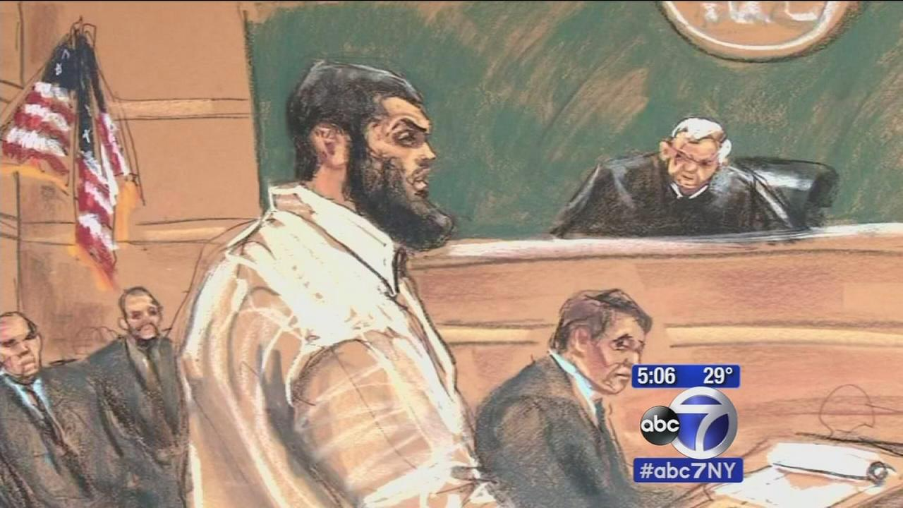 Terror suspect questions man convicted in same plot at Brooklyn trial