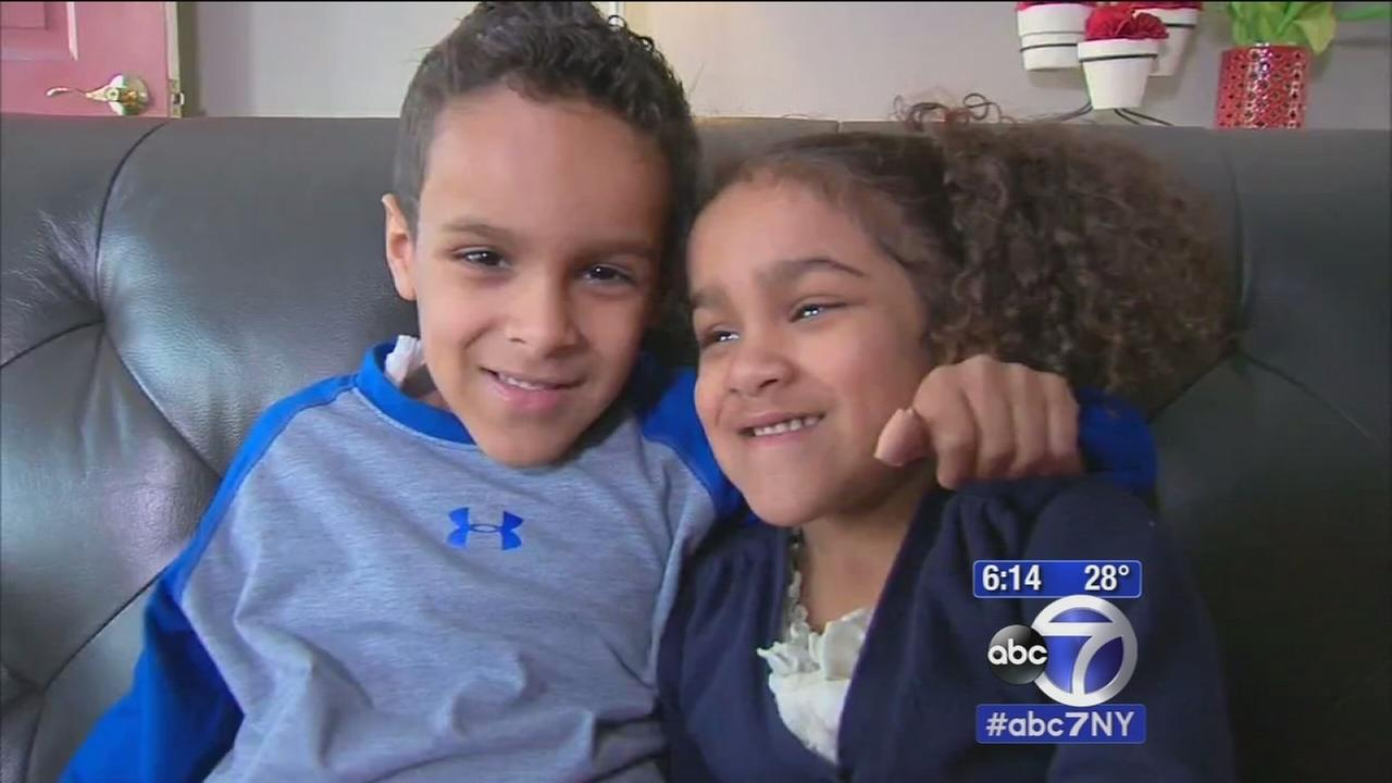Brother and sister from NJ battling rare disorder, need bone marrow transplant