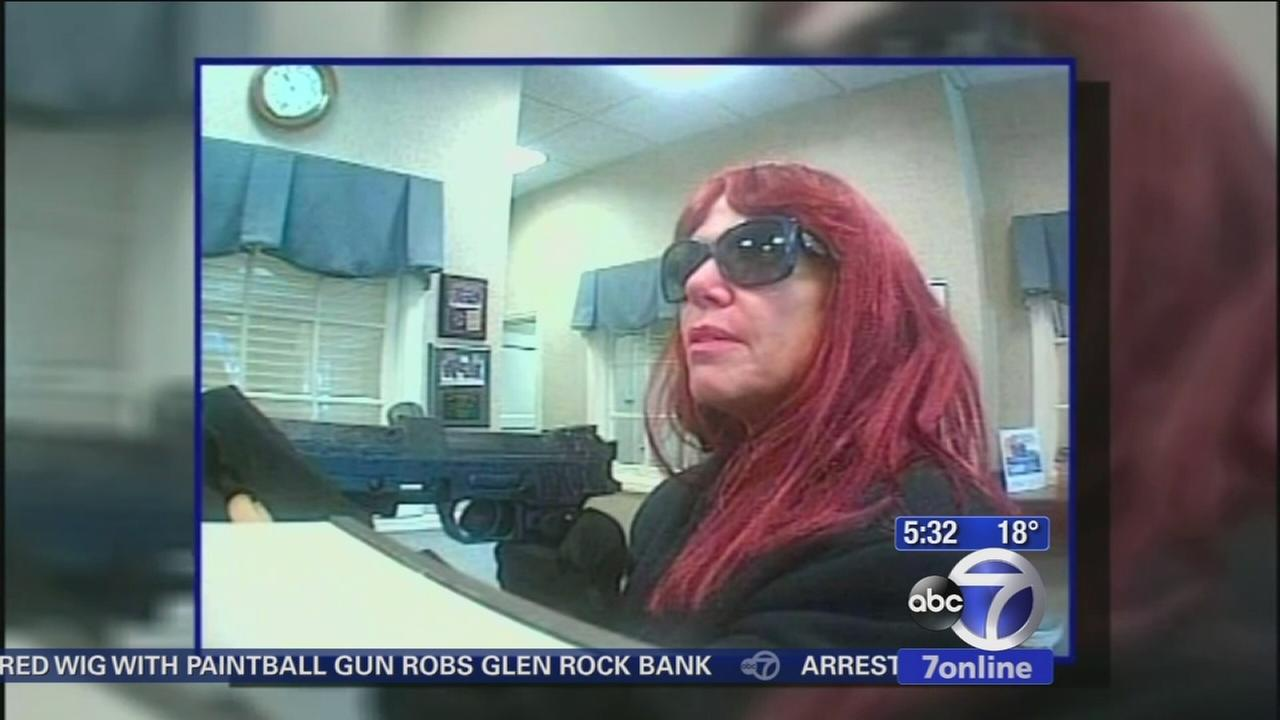 Hairs fake but man or woman? Man questions around Glen Rock bank robbery