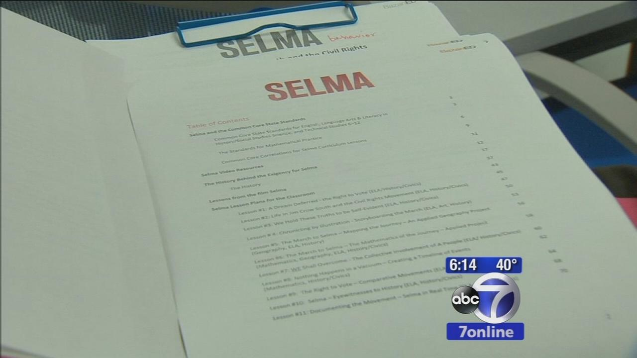 Students study MLK, Jr. and famous march thanks to Selma in Schools program