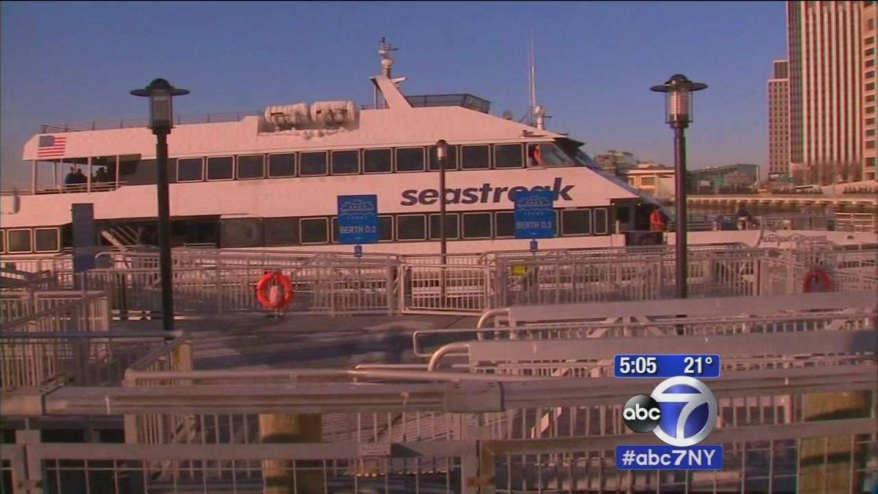 Ice causing problems for ferry commuters