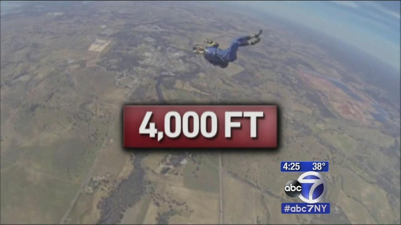 Skydriver suffers seizure moments after jumping from plane