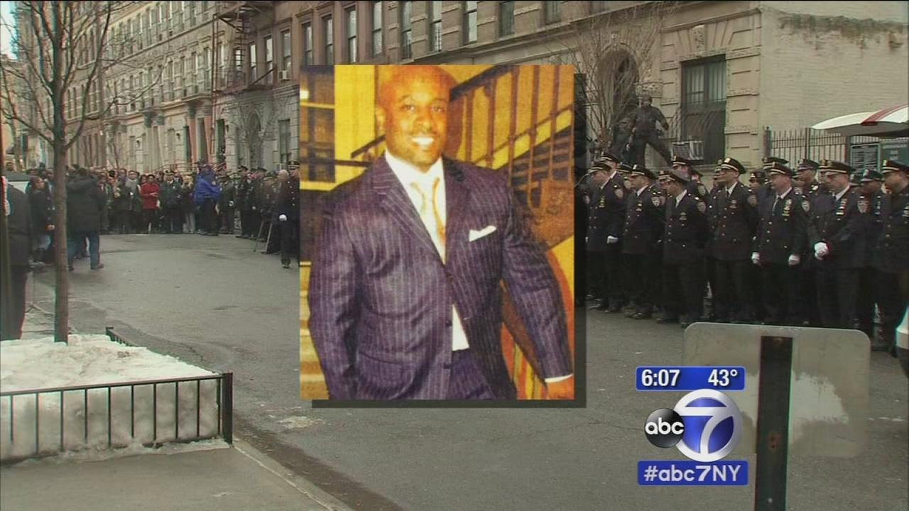 Sad farewell for off-duty officer killed in collision