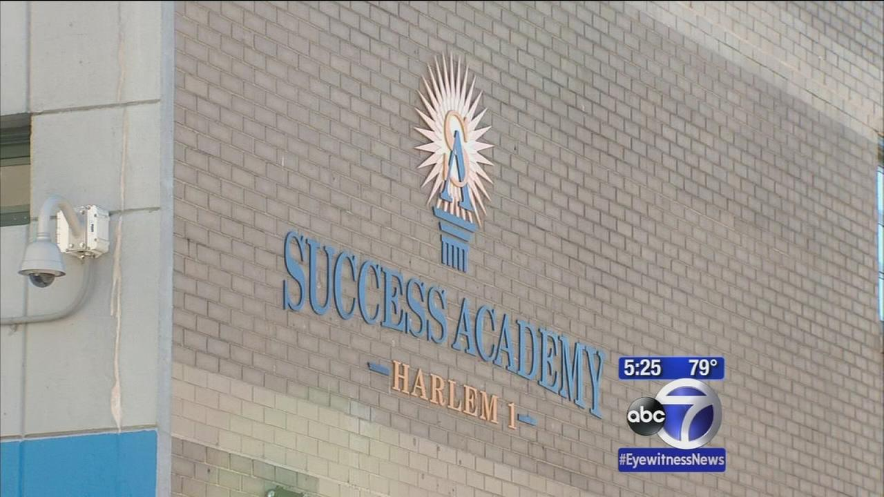 Eric Cantor tours NYC charter schools