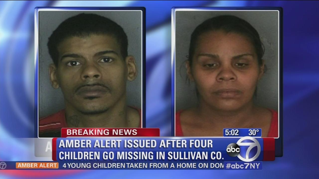 4 children missing in Amber Alert