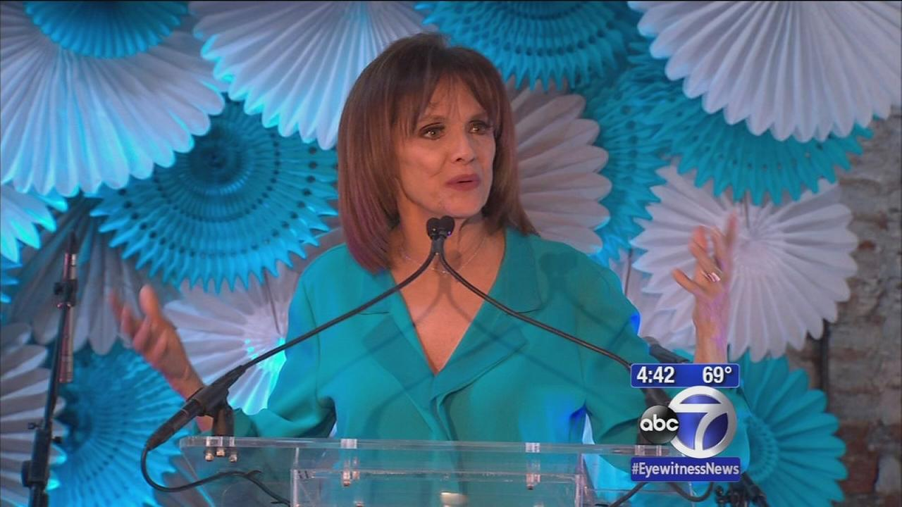 Valerie Harper speaks out about Lung Cancer