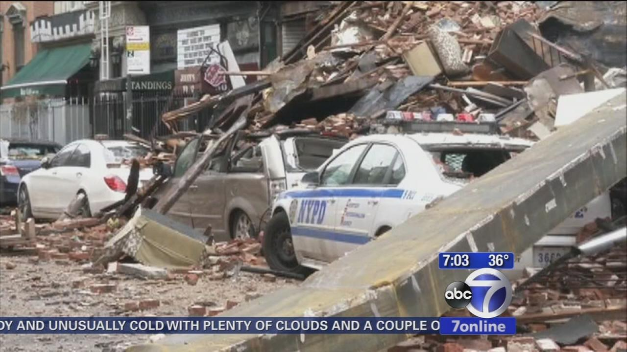 Firefighters still sifting through East Village fire site
