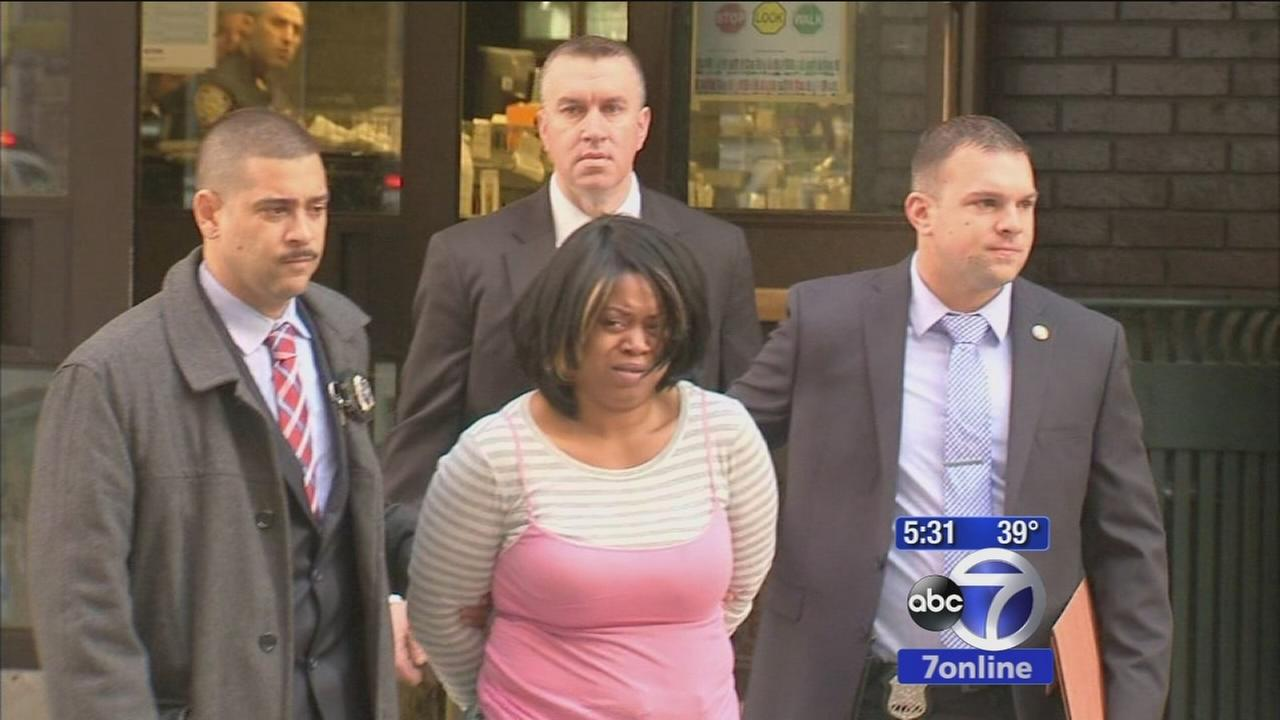 Woman charged with murdering son at restaurant