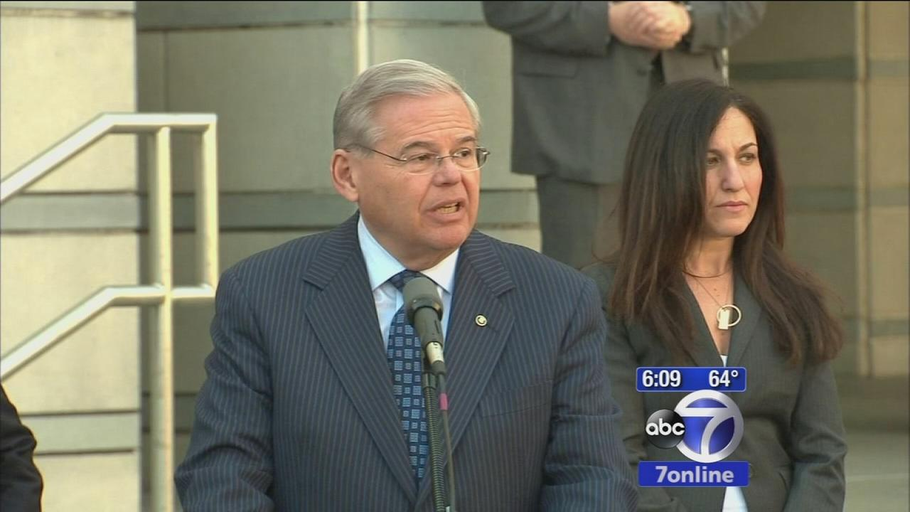 Sen. Menendez pleads not guilty to corruption charges