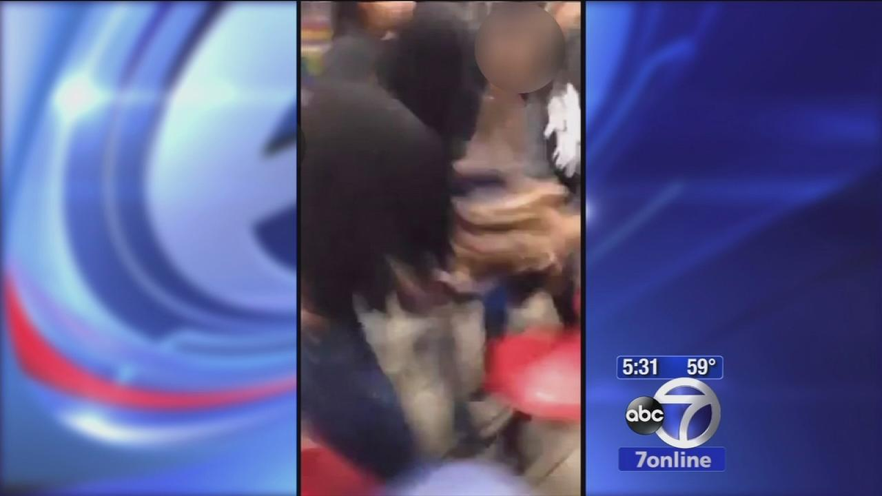 Group of girls at Irvington school gang up on security guard