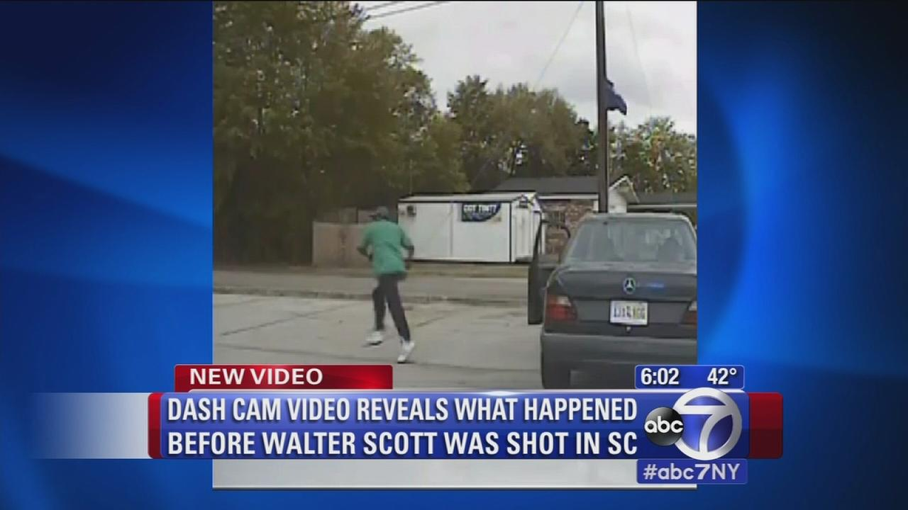 Dashcam video shows moments before South Carolina shooting