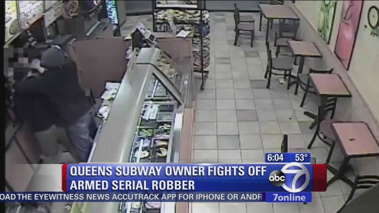 Police looking for 2 suspects in series of Queens robberies