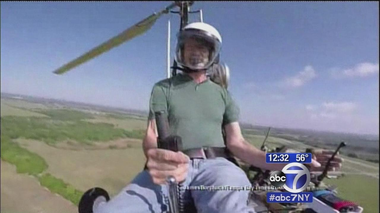 Man who landed gyrocopter on Capitol grounds speaks out