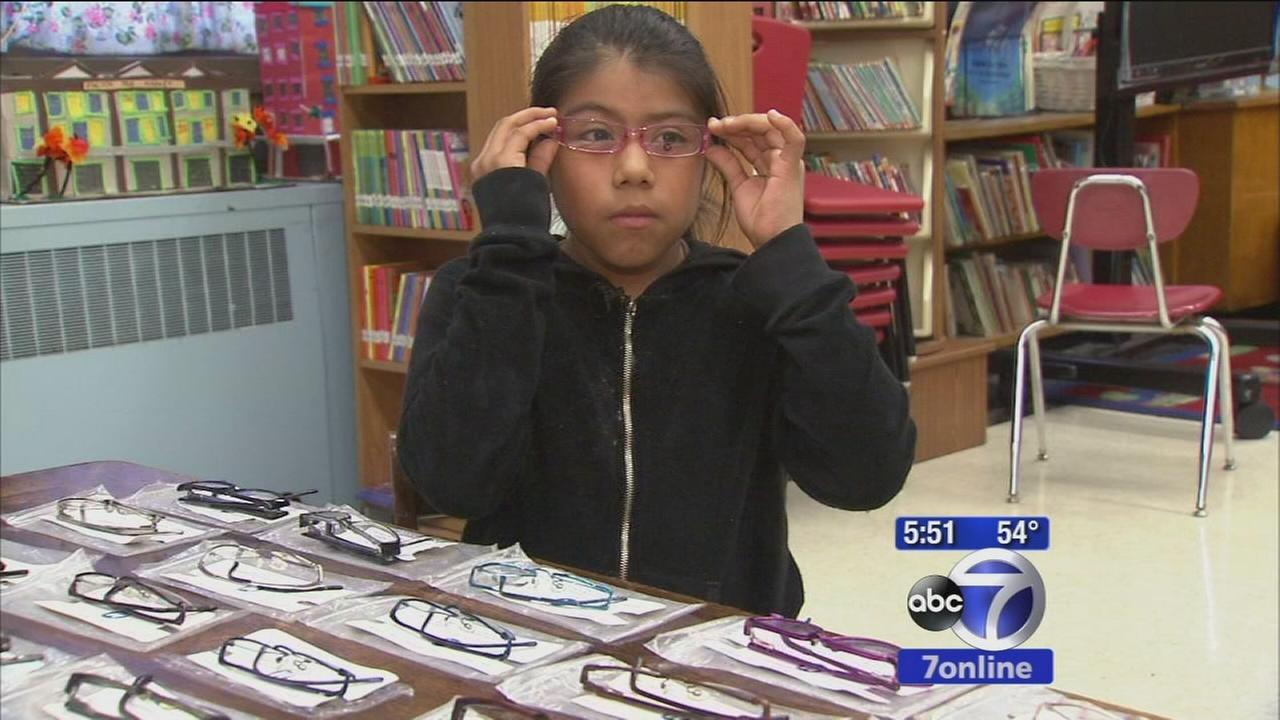 Program helping students get glasses, vision care in New York City