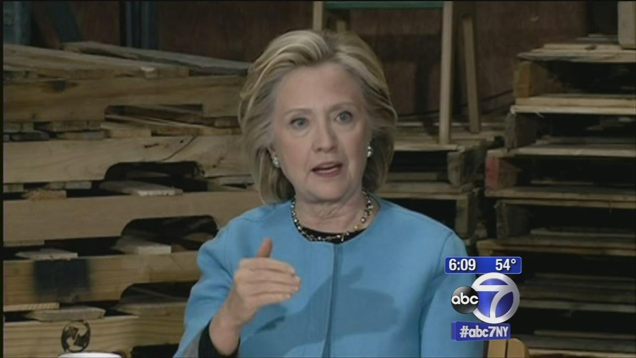 Hillary Clinton outlines criminal justice reforms, pushes for body cameras