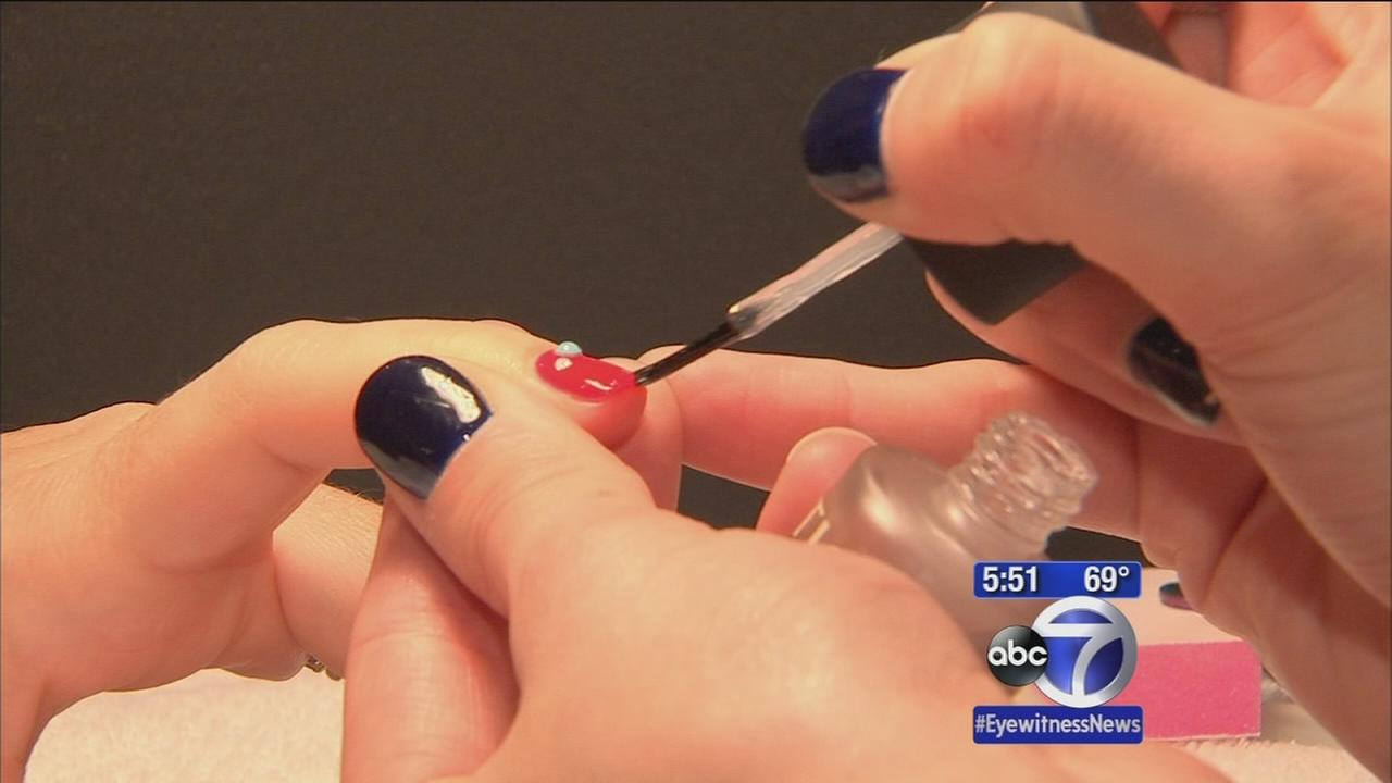 Indulgent manicures in the heart of the city