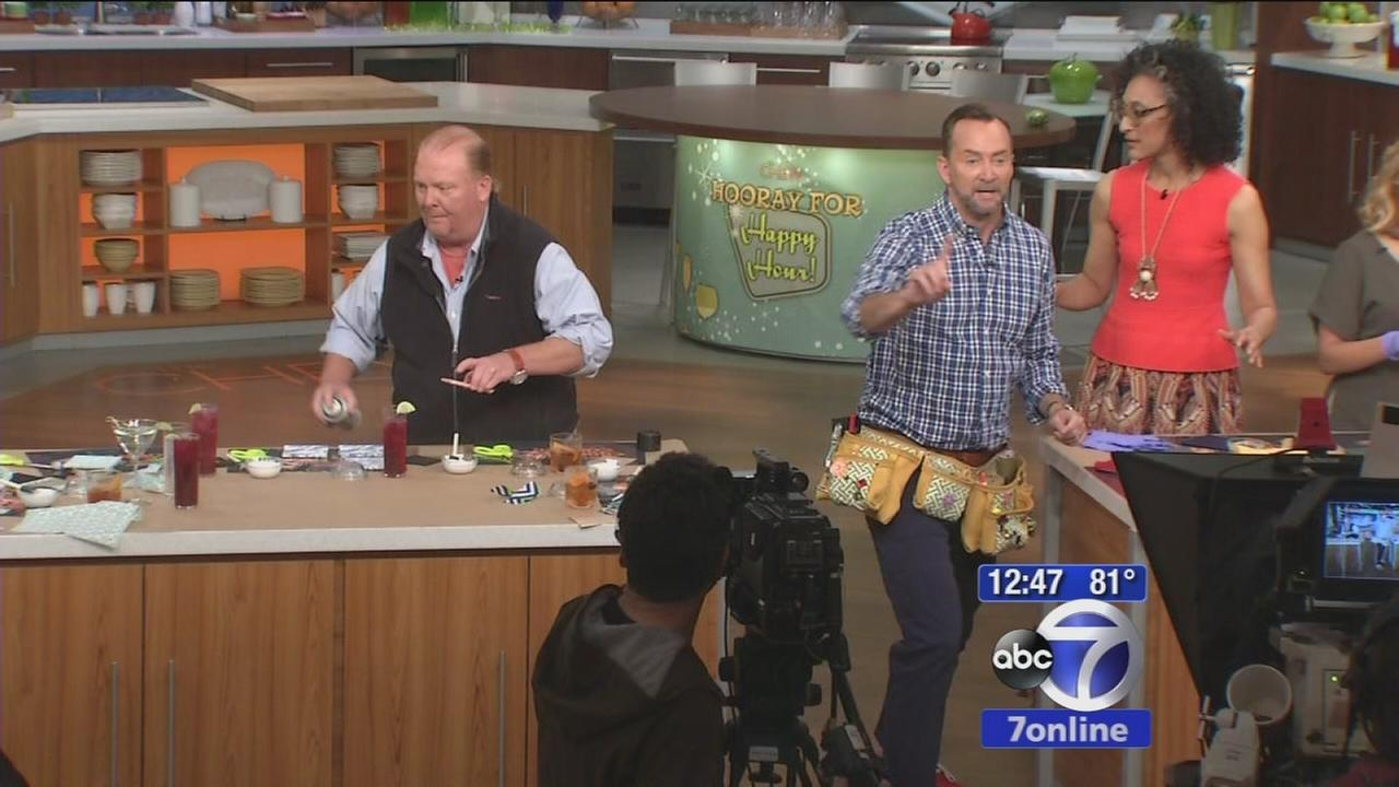 Sandy Kenyon goes backstage at The Chew