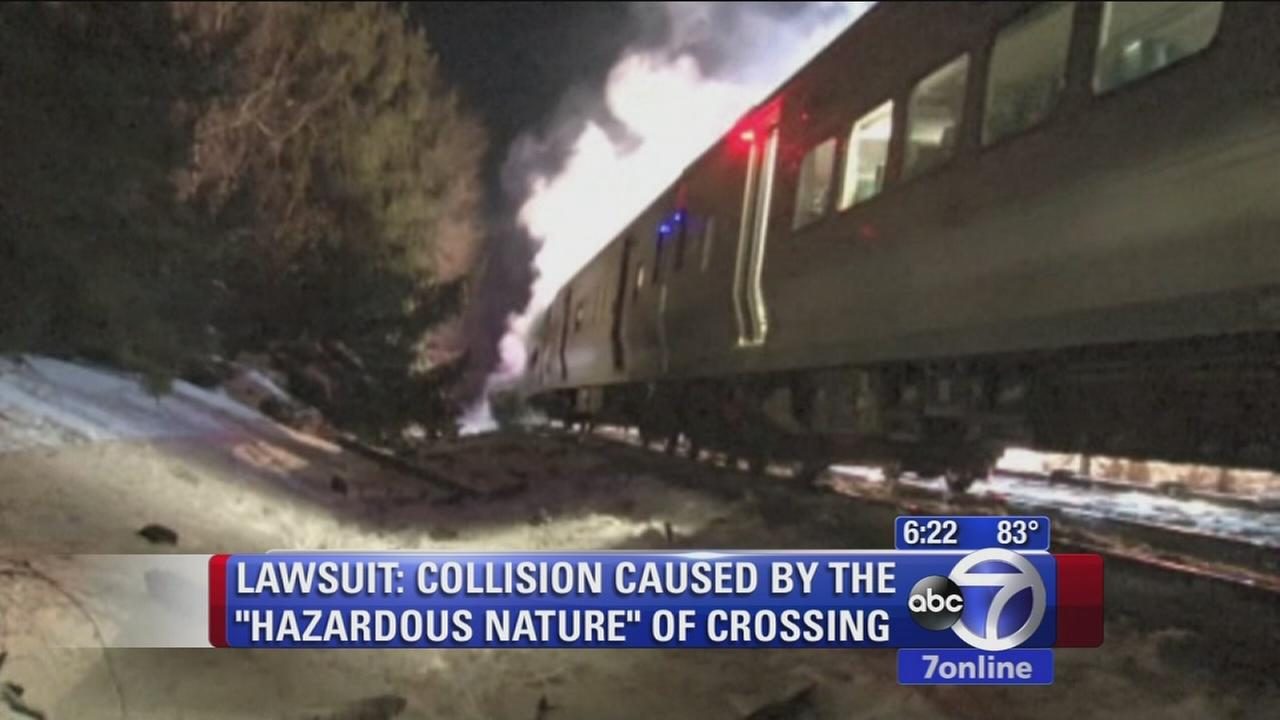 Lawsuit: Collision caused by the hazardous nature of Metro North crossing