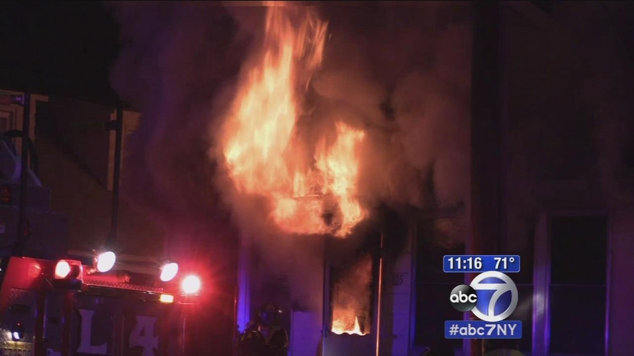 Huge house fire in Little Falls