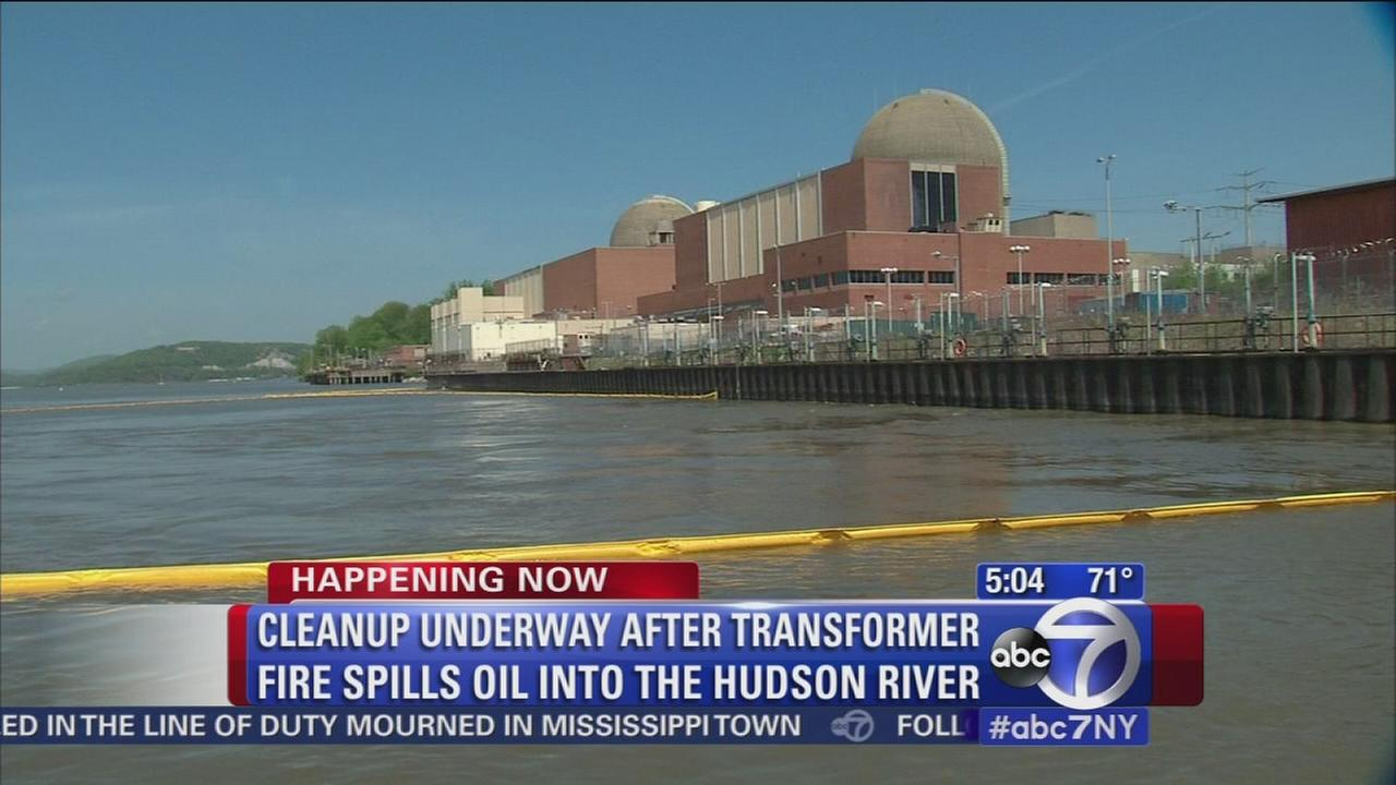 Cleanup continues after Indian Point fire