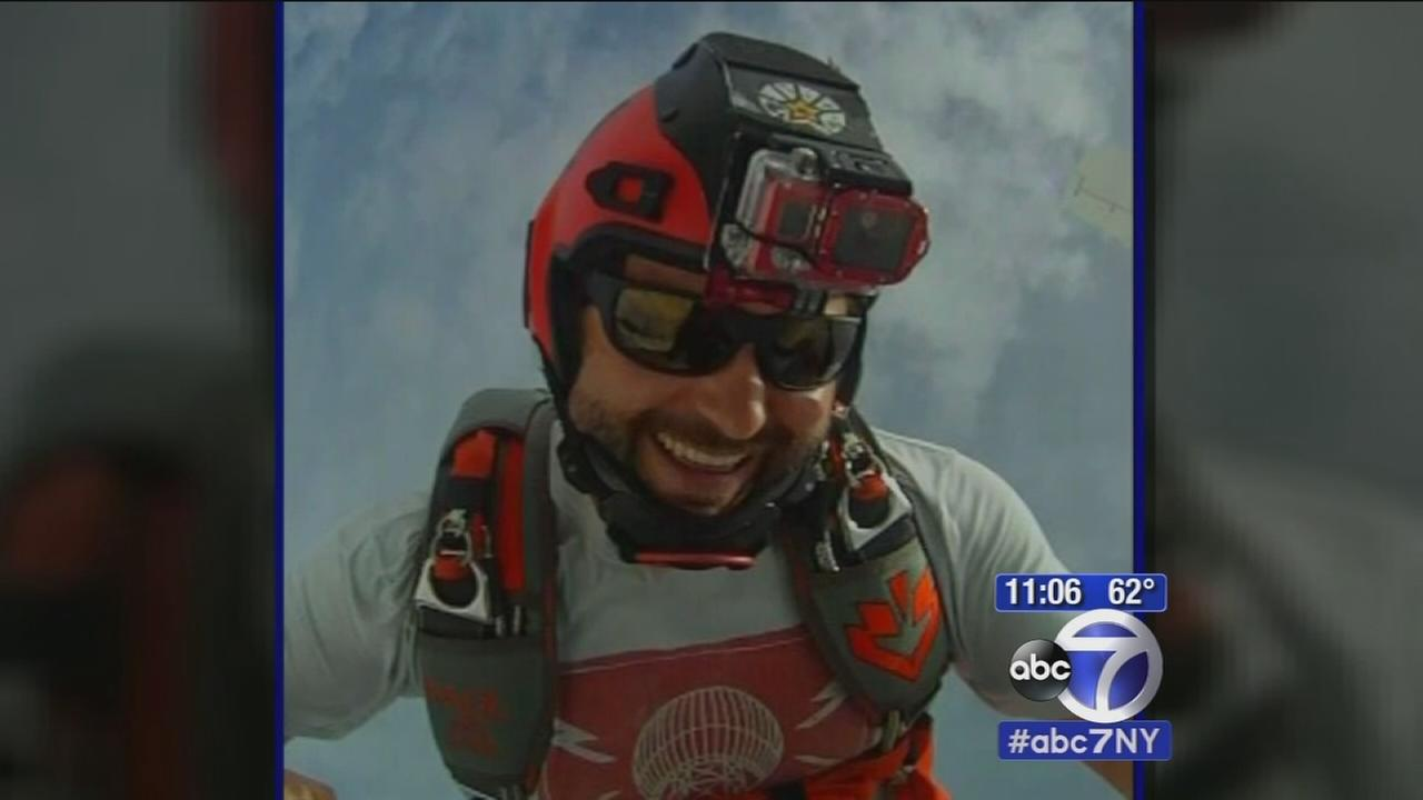 Skydiving accident seriously injured experienced skydiver in New Jersey