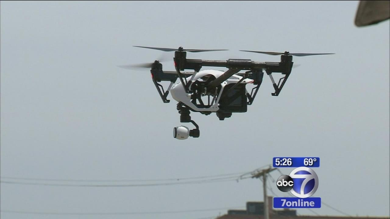 Eyewitness News unveils dronecam7