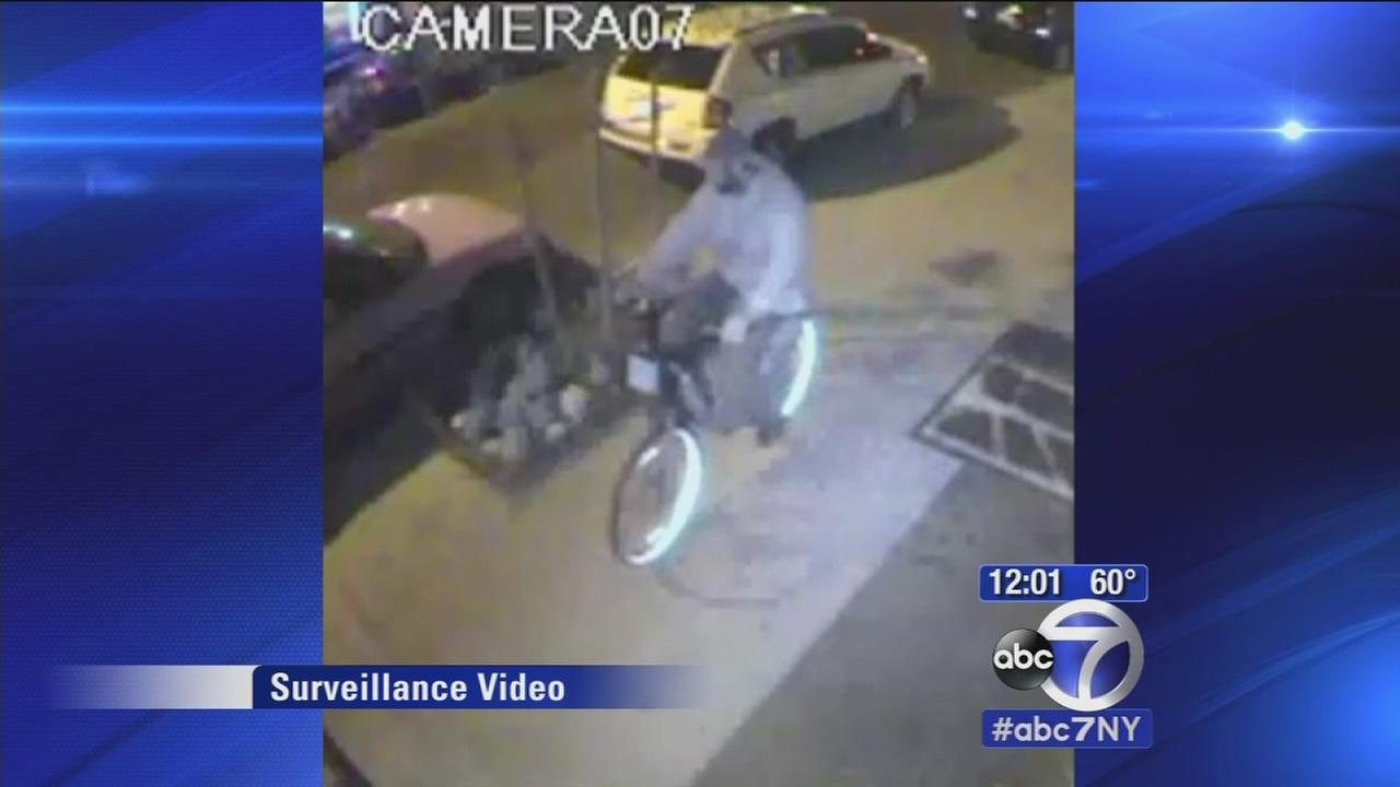 Police looking for Citi Bike bandit