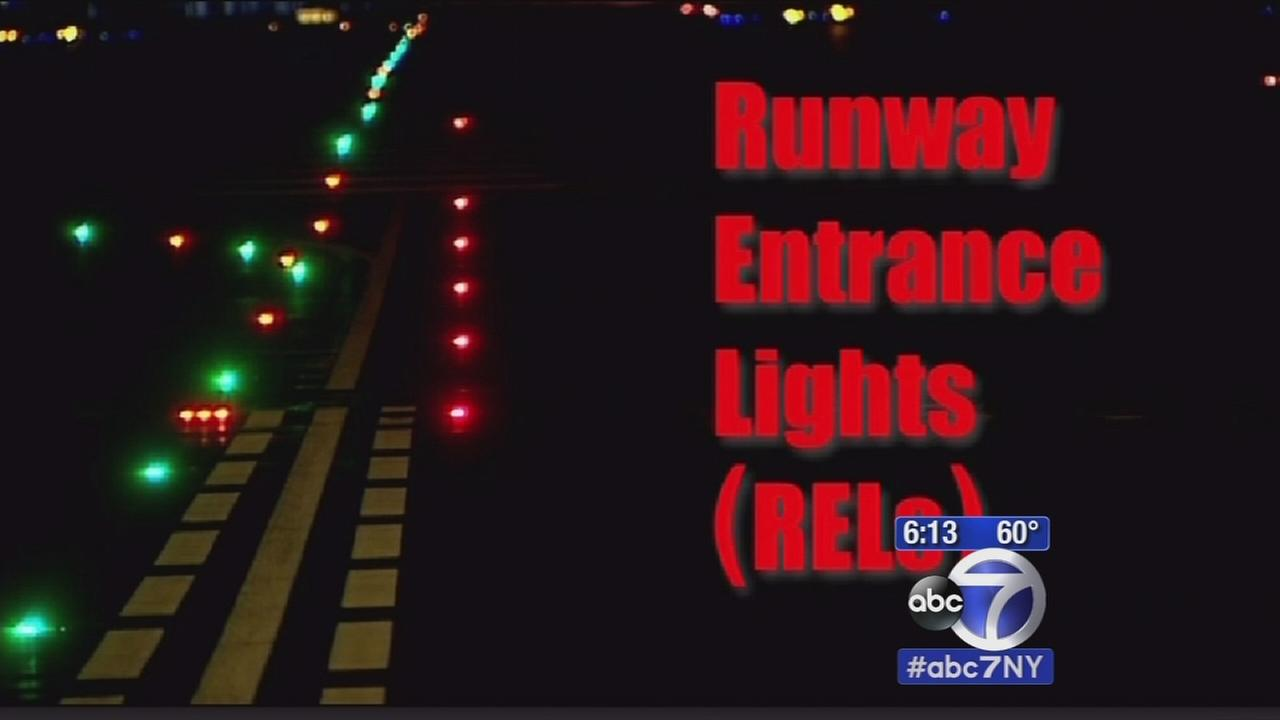 Runway safety lights on the way at NYC area airports