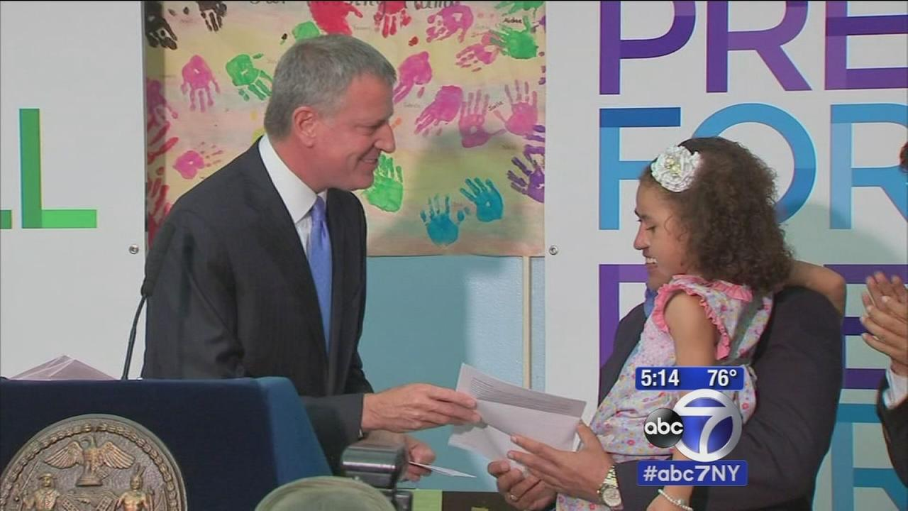Nearly 70k NYC families to receive offer for full day Pre-K