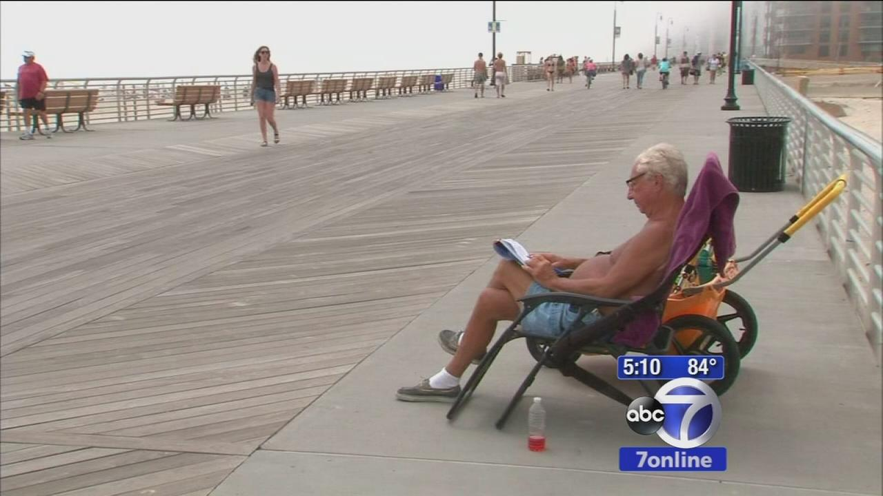 Local beaches getting ready for busy weekend