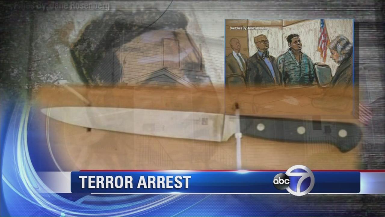 Terror suspect arrested on Staten Island