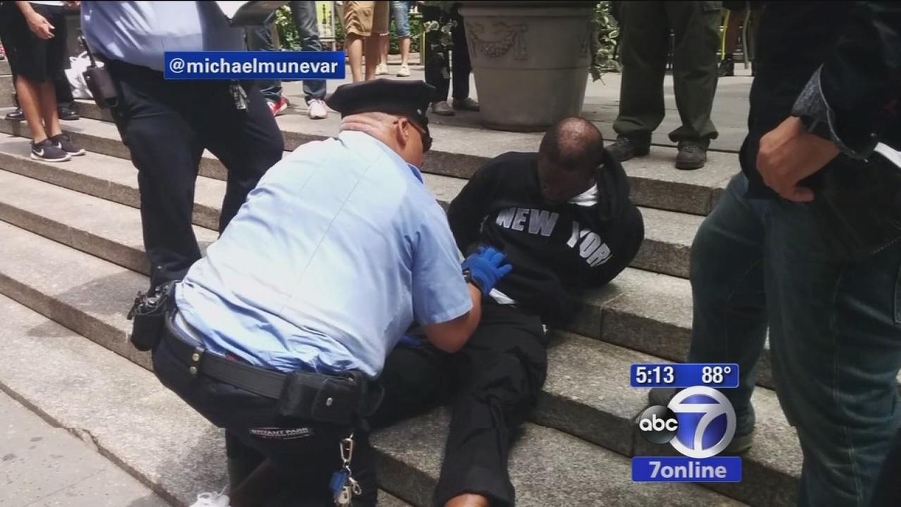 Machete-wielding homeless man slashes woman in Bryant Park