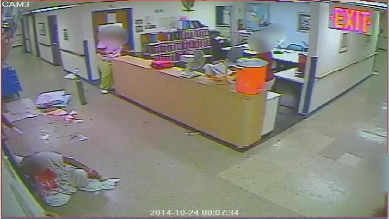 Raw video of alleged abuse at Queens nursing center