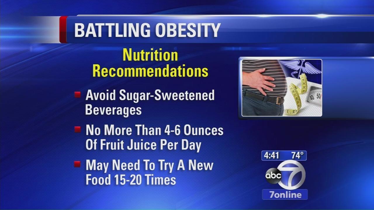 Fighting childhood obesity should start earlier, doctors say