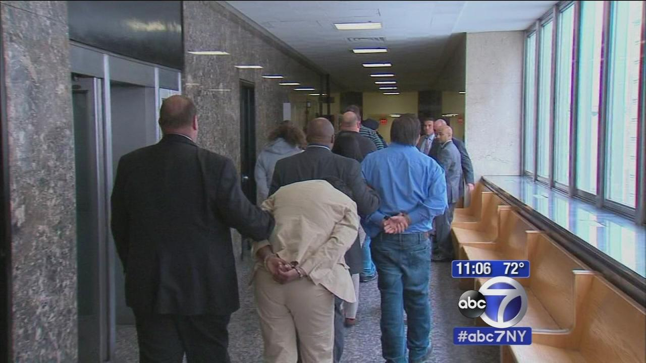 Arraignments in Metro-North cheating scandal