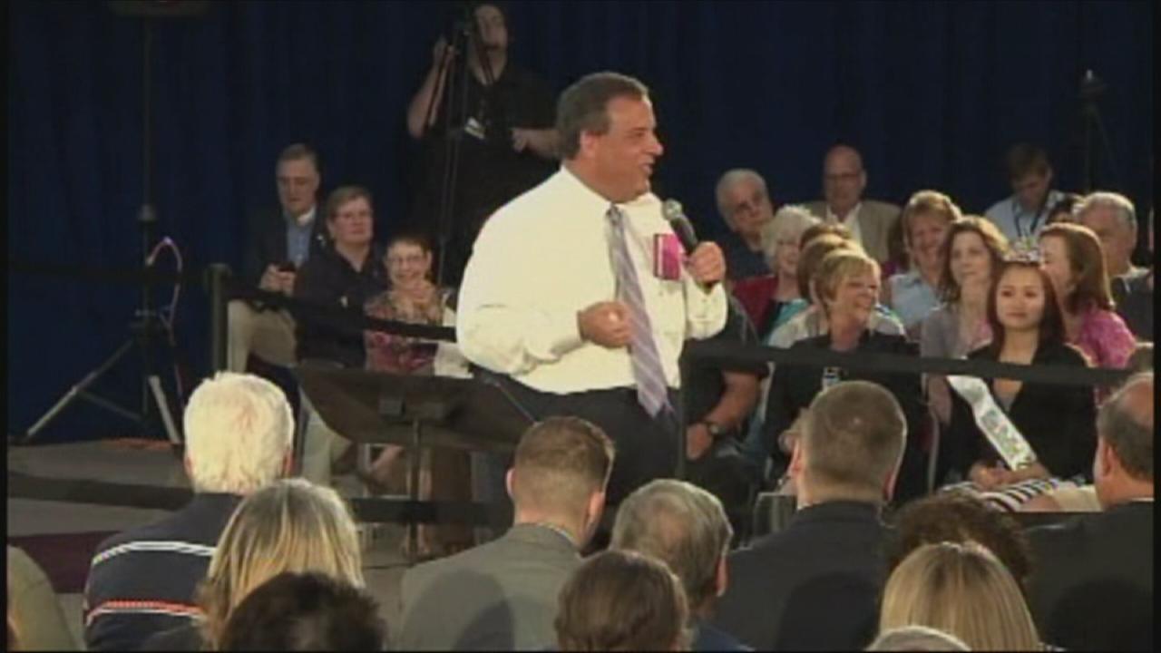 Gov. Christie: I am much smaller now