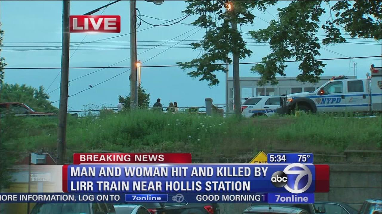LIRR train hits 2 people, delays trains
