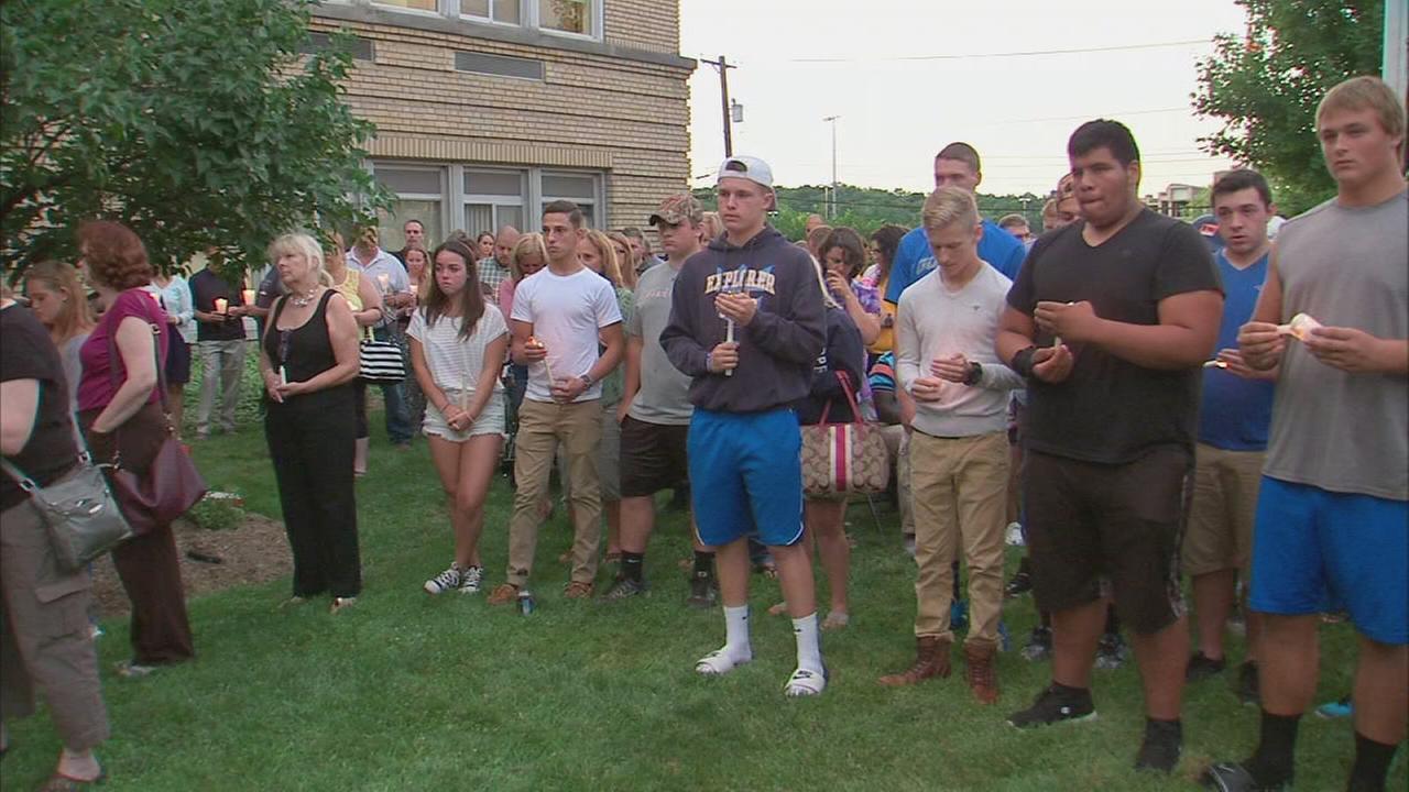 Vigil held for Goshen crash victims